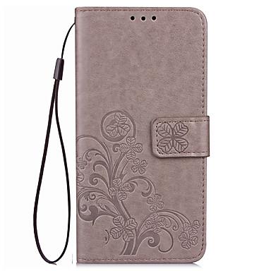 povoljno Maske za mobitele-Θήκη Za Huawei Honor 7 / Huawei Honor V8 / Huawei Honor 8 / Huawei Honor 7 / Honor 6X Novčanik / Utor za kartice / sa stalkom Korice Jednobojni Tvrdo PU koža