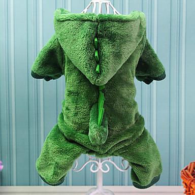 رخيصةأون ملابس وإكسسوارات الكلاب-كلب ازياء تنكرية الشتاء ملابس الكلاب الدفء كوستيوم قطن حيوان الكوسبلاي XS S M L XL XXL