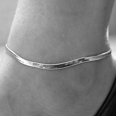 olcso Testékszerek-Női Lábékszerek láb ékszerek Állat Olcsó hölgyek Egyszerű Divat Small Bokalánc Ékszerek Arany / Ezüst Kompatibilitás Napi Hétköznapi