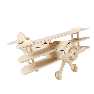 رخيصةأون 3D الألغاز-قطع تركيب3D / تركيب / النماذج الخشبية طيارة / المقاتل / بناء مشهور اصنع بنفسك خشبي كلاسيكي للأطفال للجنسين هدية
