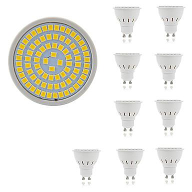 10pcs 5 W Spoturi LED 400 lm GU10 GU5.3 E26 / E27 80 LED-uri de margele SMD 2835 Decorativ Alb Cald Alb Rece 220-240 V / 10 bc / RoHs
