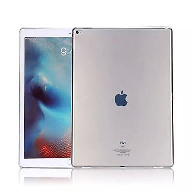 olcso iPad tokok-Case Kompatibilitás Apple iPad Air / iPad 4/3/2 / iPad Mini 3/2/1 Átlátszó Fekete tok Egyszínű Puha TPU / iPad Pro 10.5 / iPad (2017)