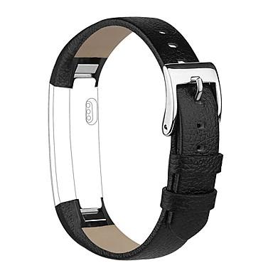 voordelige Smartwatch-accessoires-Horlogeband voor Fitbit Alta Fitbit Klassieke gesp Echt leer Polsband