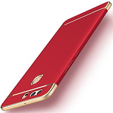 رخيصةأون Huawei أغطية / كفرات-غطاء من أجل هواوي P9 / Huawei / هواوي P9 زائد P10 Plus / P10 / Huawei P9 Plus تصفيح غطاء خلفي لون سادة قاسي الكمبيوتر الشخصي