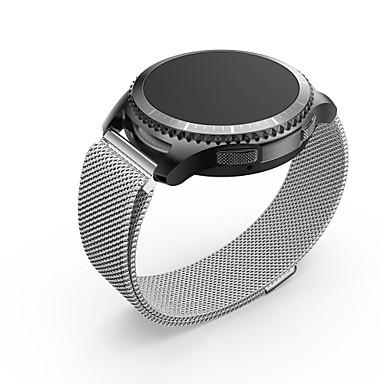 رخيصةأون قيود ساعات-الفولاذ المقاوم للصدأ حزام حزام إلى فضة 20cm / 7.9 Inches 2cm / 0.8 Inches