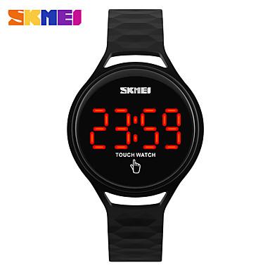 رخيصةأون ساعات الرجال-SKMEI نسائي ساعة رياضية ساعة رقمية رقمي جلد اصطناعي أسود / أزرق / أحمر عرض ساخن رقمي سحر - أحمر أخضر أزرق سنتان عمر البطارية / Maxell SR626SW + CR2025
