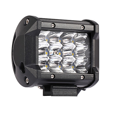 olcso Szerelő világítás-10db 36w 3600lm 6000k 3 soros led munka világos hideg fehér spot offroad vezetõfény autó / hajó / fényszóró ip68 9-32v dc