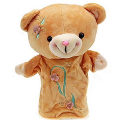 olcso Bábok-Ujjbáb Fejlesztő játék Állatok Rabbit Medve Tigris Pamut anyag Gyermek Lány Játékok Ajándék