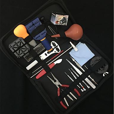 رخيصةأون إكسسوارات الساعات-حقائب أداة فتاحات الساعة مجموعات التصليح إصلاح الساعة جلد معدن اكسسوارات ساعة 0.815 جودة عالية