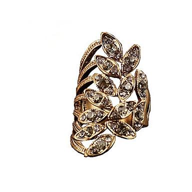 رخيصةأون خواتم-نسائي ذهبي فضي برونز سبيكة موضة زفاف مناسب للحفلات مجوهرات