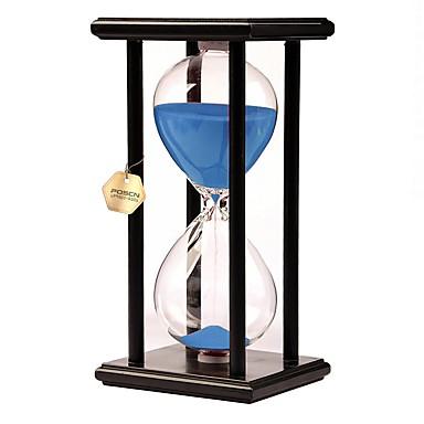 povoljno Ukrasne figurice-Pješčani sat Pješčani sat drven Reciklirani papir Uniseks Dječaci Djevojčice Igračke za kućne ljubimce Poklon