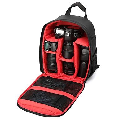 olcso Tokok, táskák & pántok-többfunkciós kamera lencse hátizsák video digitális dslr táska vízálló kültéri kamera fotó táska tok a nikon canon dslr