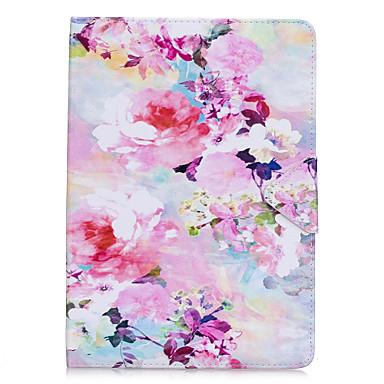 رخيصةأون أغطية أيباد-غطاء من أجل Apple iPad Air / iPad 4/3/2 / iPad Mini 3/2/1 قلب غطاء كامل للجسم زهور قاسي جلد PU / iPad Pro 10.5 / iPad (2017)