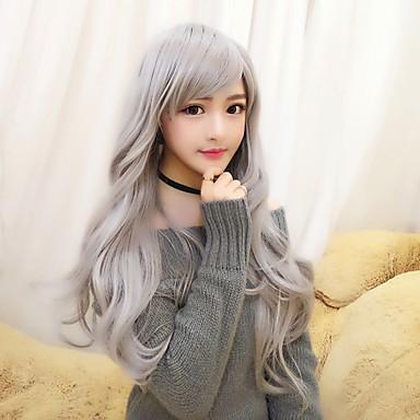 Lolita Wigs Gray Cosplay Curly Lolita Wig 28 inch Cosplay Wigs Wig  Halloween Wigs 6106608 2019 –  20.87 f68d3cd17