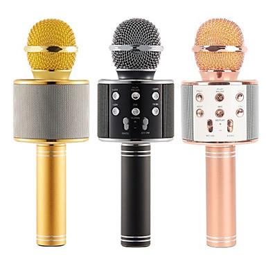 Ws 858 Mic Karaoke Microphone Wireless Headphone Mini