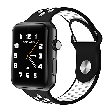 رخيصةأون ساعات ذكية-smartwatch dm09 بلوتوث جولة شاشة الحياة الرياضية للماء لالروبوت الهواتف ios مع بطاقة SIM عداد الخطى النوم اللياقة البدنية تعقب
