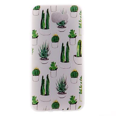 coque samsung j7 2017 cactus