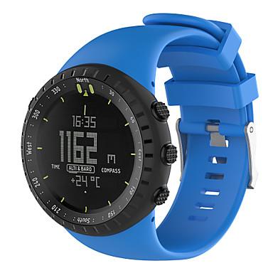 voordelige Smartwatch-accessoires-Horlogeband voor SUUNTO CORE Suunto Sportband Rubber Polsband