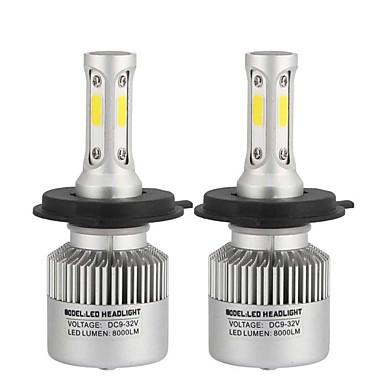 olcso Autó fényszórók-2db h10 / h9 / h7 autó izzók 80 w cob 8000 lm led fényszórók univerzális