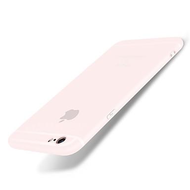 voordelige iPhone-hoesjes-hoesje Voor iPhone 6s Plus / iPhone 6 Plus / Apple iPhone 6s Plus / iPhone 6 Plus Mat Achterkant Effen Zacht Siliconen