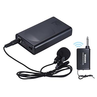 abordables Accesorios Audio y Vídeo-Portable lavalier lapel collar clip-on micrófono inalámbrico amplificador de voz para la conferencia Conferencia discurso promoción