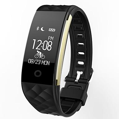 olcso Zsebóra-s2 intelligens óra bt 4.0 fitness tracker támogatása értesíti a vízálló ívelt képernyős sport karszalagot a Samsung / Sony android telefonok és iPhone készülékek számára