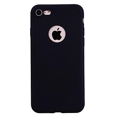 5d4cdf8825be1 غطاء من أجل Apple iPhone 7   iPhone 7 Plus مثلج غطاء خلفي لون سادة ناعم TPU  إلى iPhone 7 Plus   iPhone 7   iPhone 6s Plus 6154769 2019 – €4.99