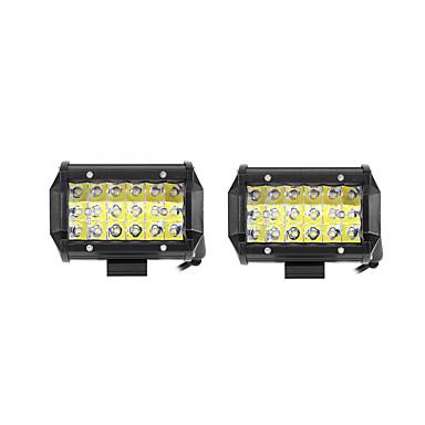 رخيصةأون مصابيح أعمال صيانة السيارات-2pcs سيارة لمبات الضوء 54 W SMD 3030 10800 lm LED ضوء العمل من أجل