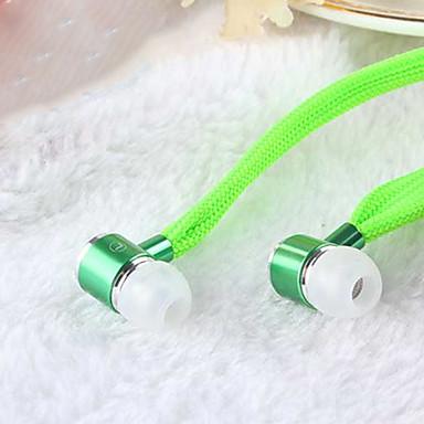 olcso Valódi vezeték nélküli fülhallgatók-Fülben Vezetékes Fejhallgatók Dinamikus Aluminum Alloy Mobiltelefon Fülhallgató Mikrofonnal / Zajszűrő Fejhallgató