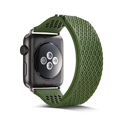 זול רצועות לApple Watch-צפו בנד ל סדרת Apple Watch 5/4/3/2/1 Apple רצועת ספורט סיליקוןריצה רצועת יד לספורט