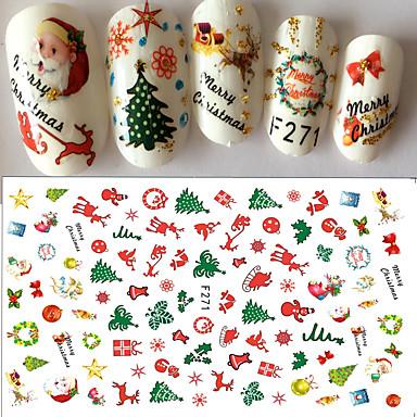 1 pcs Naljepnice i trake Nail Decals Nail Art Design