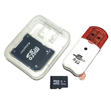 olcso Micro SD Card-hangyák 32gb micro sd kártya tf kártya usb flash meghajtó kártyaolvasó kombináció okostelefon / laptop / tablet / iroda