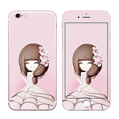 voordelige iPhone screenprotectors-Screenprotector voor Apple iPhone 6s Iphone 6 Gehard Glas Voorkant- & achterkantbescherming 9H-hardheid 2.5D gebogen rand Explosieveilige