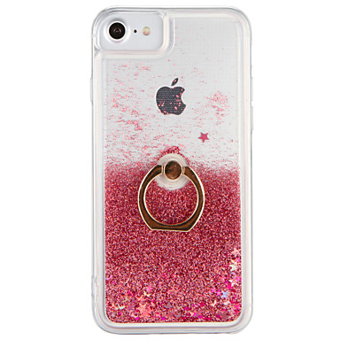 premium selection b7d6a e81ab [$4.99] Case For Apple iPhone 7 / iPhone 7 Plus Flowing Liquid / Ring  Holder Back Cover Glitter Shine Hard PC for iPhone 7 Plus / iPhone 7 /  iPhone 6s ...