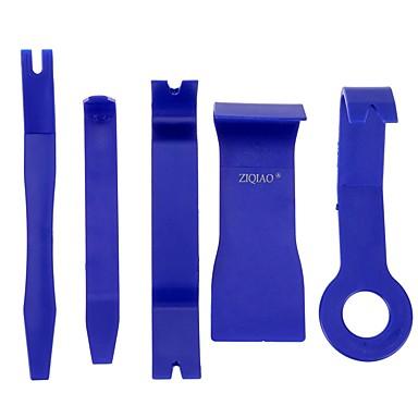 Недорогие Ремонтные инструменты-Ziqiao 5 шт синий цвет DIY пластиковый автомобиль авто радио дверь клип панель отделка тире аудио удаление pry набор инструментов