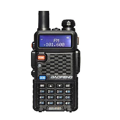 BaoFeng BF-F8+ Handheld Emergency Alarm 136-174MHz/400-520 MHz FM Ham Two-Way Radio Walkie Talkie Transceiver
