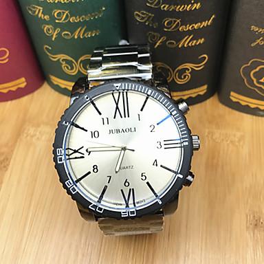رخيصةأون ساعات الرجال-JUBAOLI رجالي ساعة رياضية ساعة المعصم كوارتز المتضخم ستانلس ستيل أسود 50 m كوول طرد كبير مماثل كاجوال موضة - أسود أسود-برتقالي أسود-أحمر