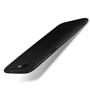 voordelige iPhone-hoesjes-hoesje Voor iPhone 7 Plus / Apple iPhone 7 Plus Mat Achterkant Effen Zacht Siliconen