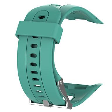 Недорогие Аксессуары для смарт-часов-Ремешок для часов для Forerunner 10 Garmin Спортивный ремешок Pезина Повязка на запястье