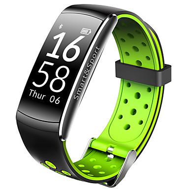 رخيصةأون ساعات الرجال-q6 الذكية معصمه بلوتوث اللياقة البدنية تعقب دعم الإخطار / القلب رصد معدل الرياضة للماء smartwatch متوافق مع فون / سامسونج / الروبوت الهواتف