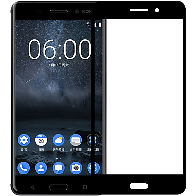 olcso Nokia képernyővédők-XIMALONG Képernyővédő fólia mert Nokia Nokia 6 Edzett üveg 1 db Kijelzővédő fólia High Definition (HD) / Robbanásbiztos / Karcolásvédő