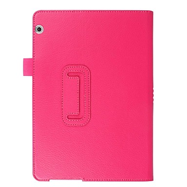 voordelige Tablethoesjes-hoesje Voor Huawei MediaPad Huawei MediaPad T3 10(AGS-W09, AGS-L09, AGS-L03) Volledig hoesje Effen Hard PU-nahka
