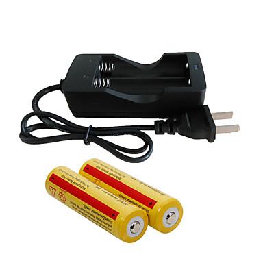 olcso Csináld magad alkatrészek és szerszámok-Akkumulátor töltő akkumulátor 4200 mAh mert 18650 Újratölthető Hordozható Gyorstöltés Egyesült Királyság EU AEÁ Kempingezés és túrázás / Halászat