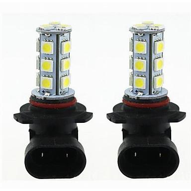 Недорогие Огни для авто-2pcs H11 / 9005 / 9006 Автомобиль Лампы 3 W SMD 5050 270 lm Светодиодная лампа Лампа поворотного сигнала Назначение