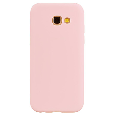 voordelige Galaxy A-serie hoesjes / covers-hoesje Voor Samsung Galaxy A3 (2017) / A5 (2017) / A7 (2017) squishy Achterkant Effen Zacht TPU