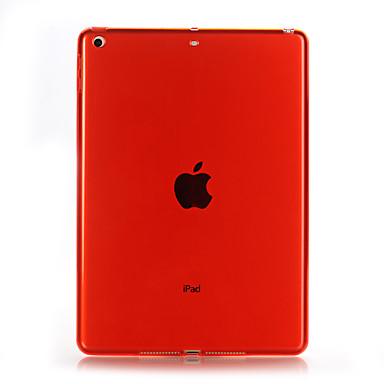 رخيصةأون أغطية أيباد-غطاء من أجل Apple iPad Air / iPad 4/3/2 / iPad Mini 4 شفاف غطاء خلفي لون سادة ناعم TPU / iPad Pro 10.5 / iPad (2017)