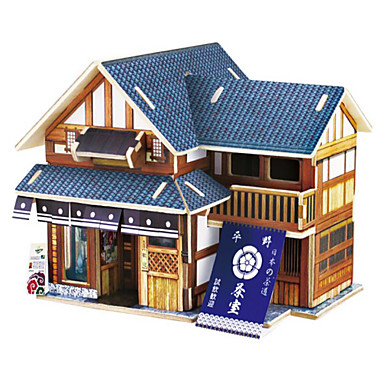 8ff0a336dfd4 Παζλ 3D Ξύλινα παζλ Kit de Construit Αυτοκίνητο Σπίτι 3D Φτιάξτο Μόνος Σου  Ξύλινος Φυσικό Ξύλο Κλασσικό Παιδικά Γιούνισεξ Παιχνίδια Δώρο 6108049 2019  – € ...