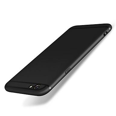 Недорогие Кейсы для iPhone 6-Кейс для Назначение iPhone 6s / iPhone 6 / Apple iPhone 6s / iPhone 6 Защита от удара / Матовое Кейс на заднюю панель Однотонный Мягкий Силикон