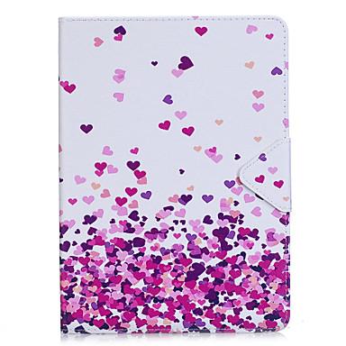 رخيصةأون أغطية أيباد-غطاء من أجل Apple iPad Air / iPad 4/3/2 / iPad (2018) أورجامي غطاء كامل للجسم قلب قاسي جلد PU