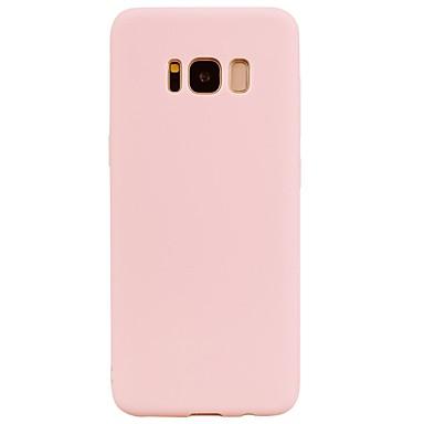 رخيصةأون حافظات / جرابات هواتف جالكسي S-غطاء من أجل Samsung Galaxy S8 Plus / S8 / S7 edge اسفنجي غطاء خلفي لون سادة ناعم TPU